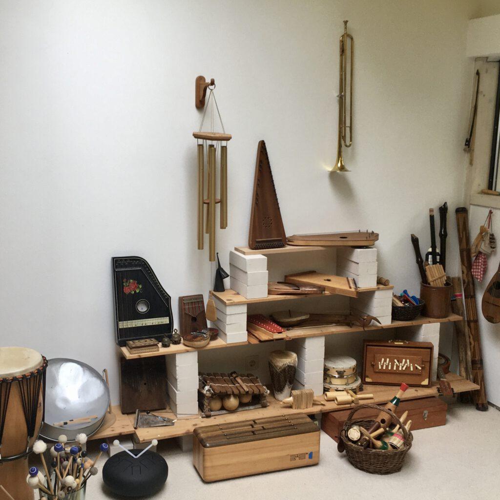 Übersicht Musikinstrumente
